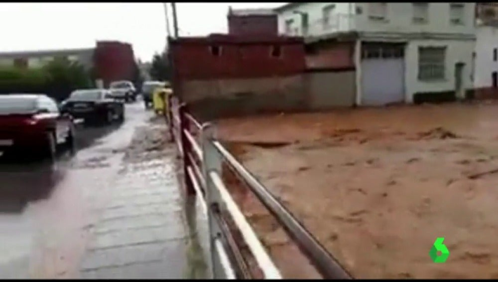 Tormentas e inundaciones en Murcia, Teruel y Baleares