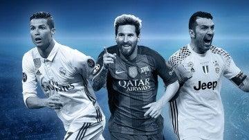 Cristiano, Messi y Buffon, en el once