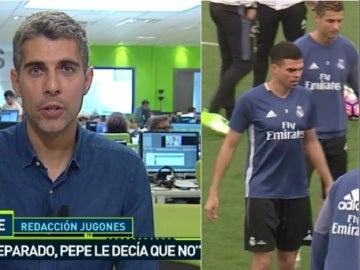 Pepe se 'borra' en el último mes