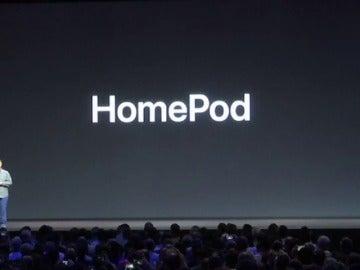 Frame 7.636871 de: Lo nuevo de Apple: un altavoz doméstico inteligente llamado HomePod