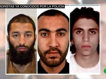 Terroristas del atentado perpetrado en Londres
