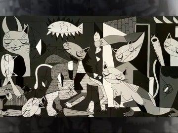 Frame 3.581 de: Una exposición homenajea a Minou, el gato que cambió la vida a Picasso