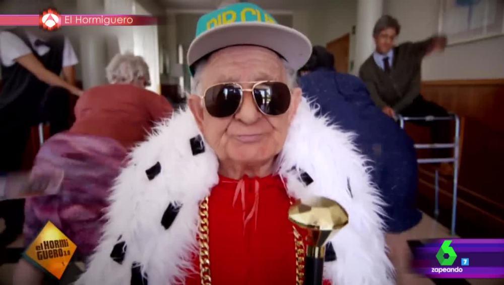 Melquiades, el abuelo del reggaeton de 92 años