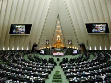 Vista general del Parlamento iraní