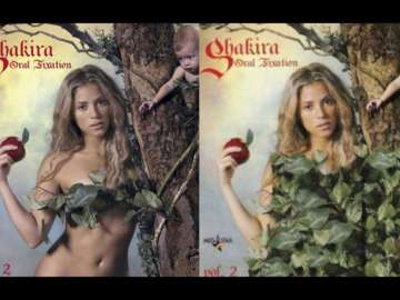 Censura en la portada de 'Oral Fixation: Vol. 2', de Shakira
