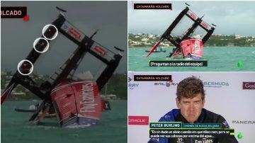 Espectacular accidente en la Copa América