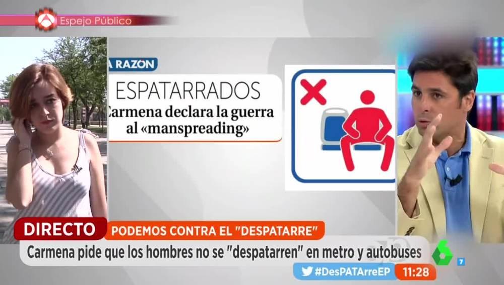 Francisco Rivera defiende el 'despatarre' por el tamaño de lo que tiene ahí
