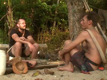 David y Juan en La Isla