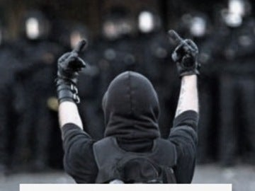 Imagen de archivo de un anarquista