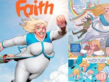 Faith destruye el estereotipo de superheroína perfecta y delgada