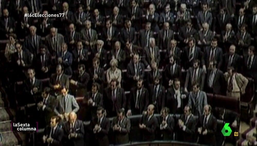 ¿Aplaudieron al rey todos los diputados en el parlamento? La insólita reacción de Guerra mostró la división socialista y comunista