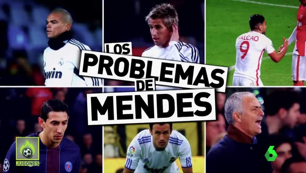Los jugadores representados por Mendes con problemas con Hacienda