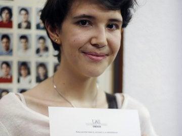 Carlota Monedero, la joven que ha conseguido mejor nota en la Selectividad de Madrid