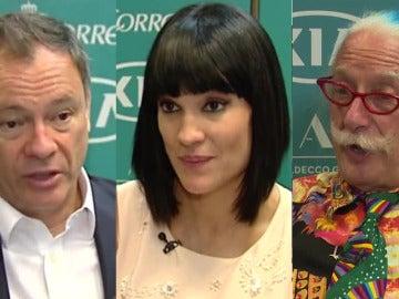 López-Alegría, Irene Villa y Patch Adams