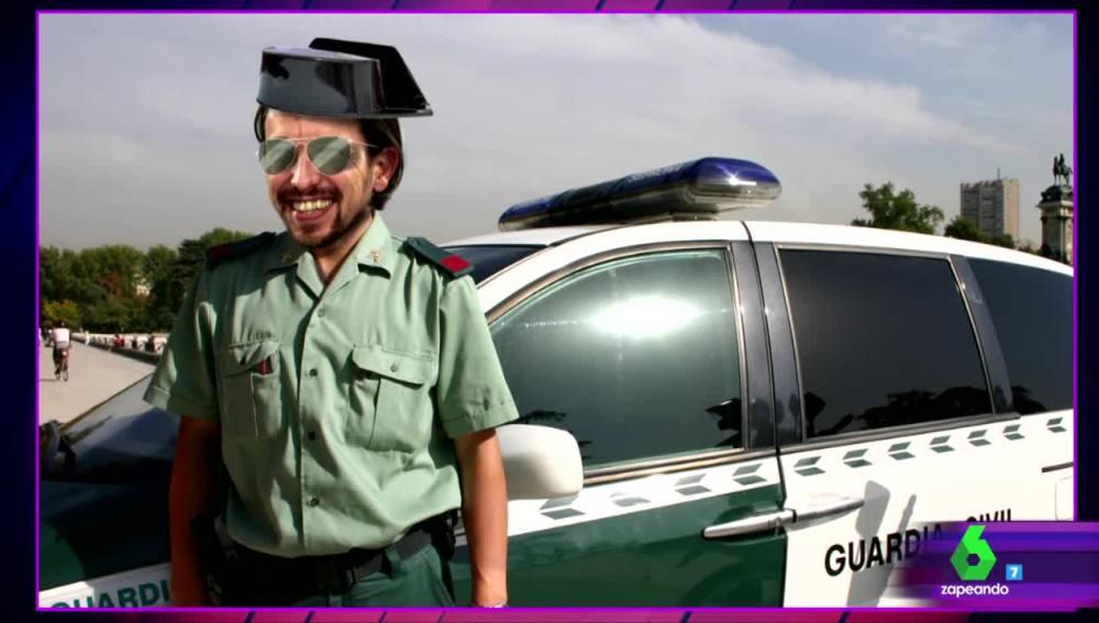 """Este es el guardia civil podemita que """"torturó"""" a Granados silbando el himno del PP estando en la cárcel"""
