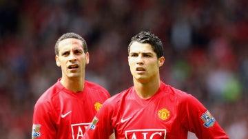 Ferdinand, con Cristiano