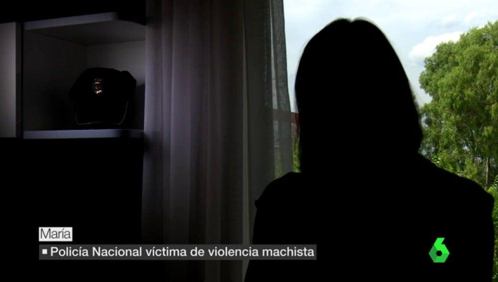POLICIA MALTRATADA