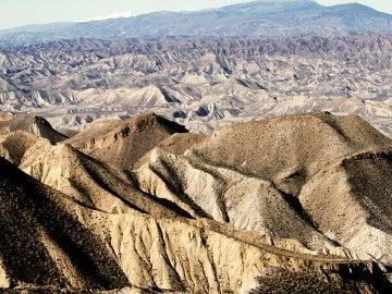 Vista general del llamado desierto de Almería