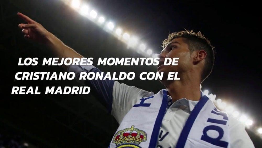 Los mejores momentos de Cristiano Ronaldo con el Real Madrid