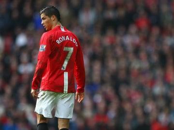 Cristiano Ronaldo, en el Manchester United