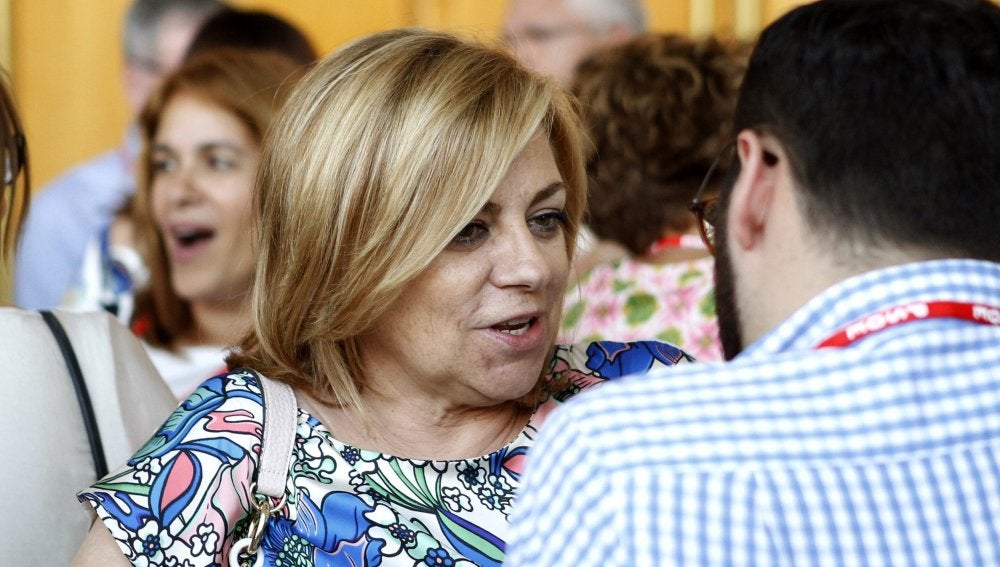 La eurodiputada y exvicesecretaria general socialista Elena Valenciano