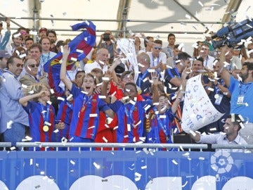 El Barcelona, campeón de LaLiga Promises en Villarreal
