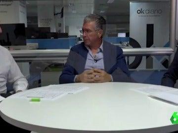 Francisco Granados, en una entrevista para OK Diario