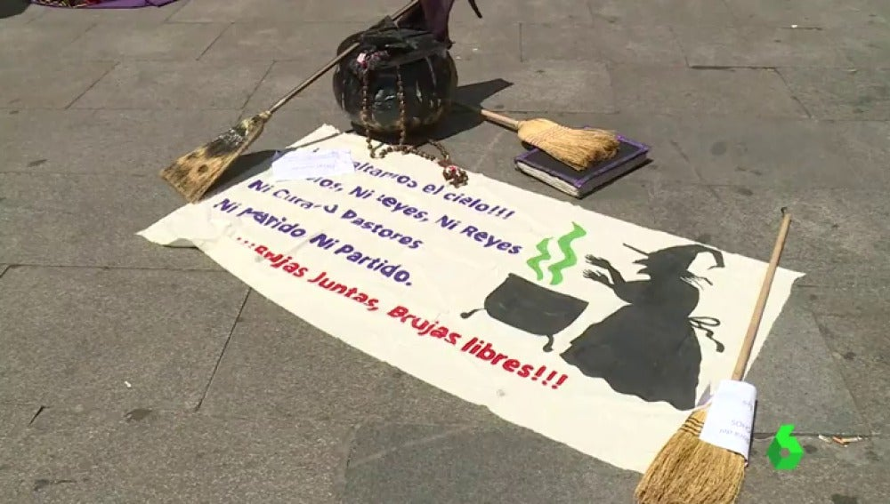 Concentración en la Puerta del Sol de Madrid