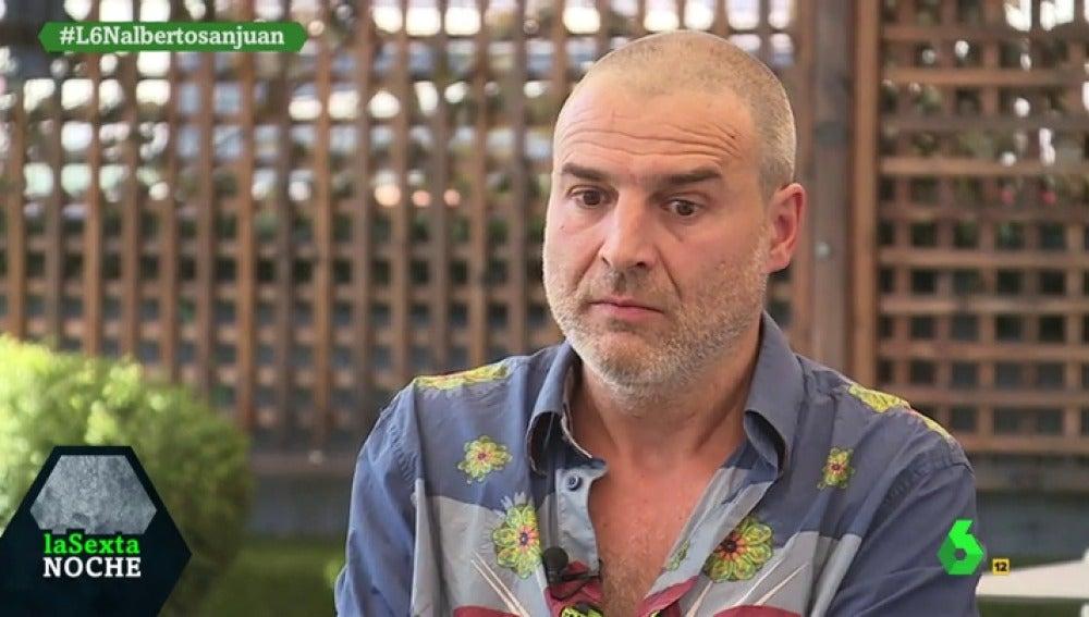 """Alberto San Juan: """"Solo la base social del PSOE y Unidos Podemos puede garantizar un cambio"""""""