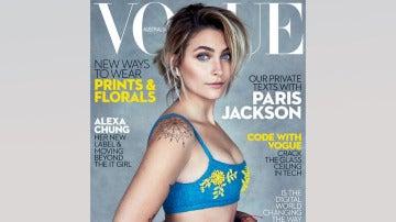 El posado de la hija de Michael Jackson para la revista 'Vogue' edición Australia