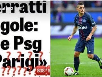 Verratti desmiente un acercamiento al PSG