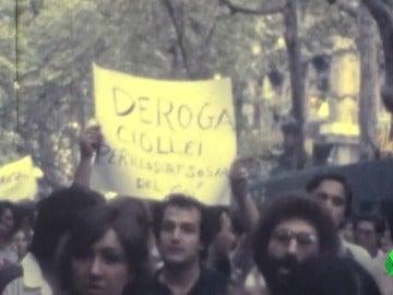 Manifestación por los derechos de igualdad del colectivo LGTBI