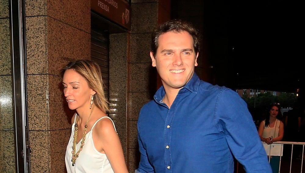Albert Rivera y su novia
