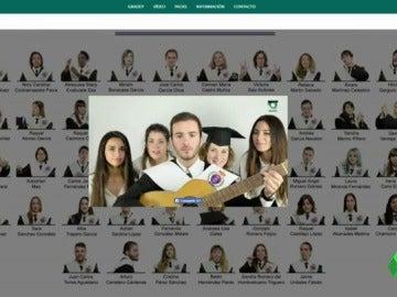 Dos universitarios diseñan orlas interactivas