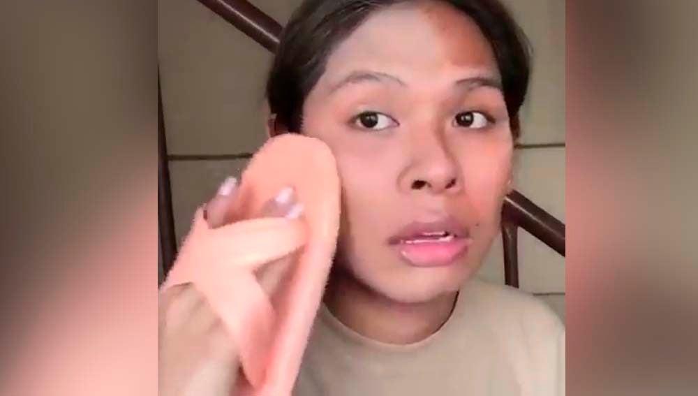 La técnica de maquillaje más viral: ¡con una chancla!