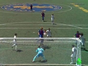 Iker Bravo anota el 3-2 definitivo en la final