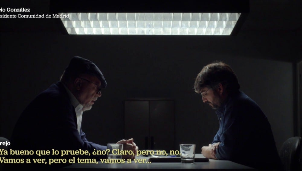El comisario Villarejo y Jordi Évole
