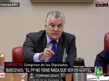 Luis Bárcenas comparece en el Congreso