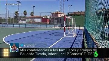 Ramos expresa sus condolencias por el fallecimiento del pequeño Eduardo