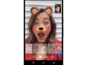 Facebook Messenger activa máscaras en sus videollamadas