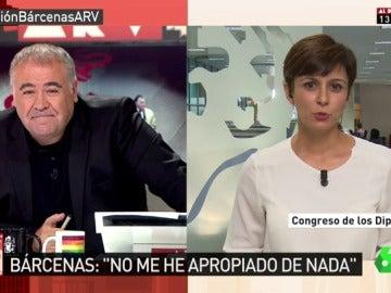 Isabel Rodríguez en ARV