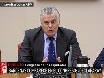 Luis Bárcenas en el Congreso