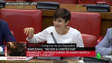 Isabel Rodríguez en la comisión de investigación