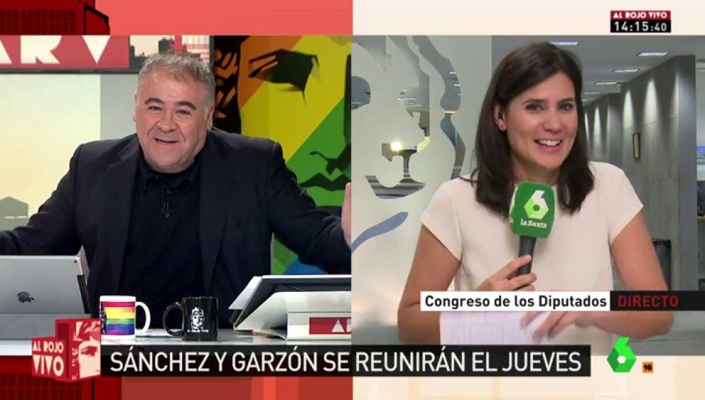 Antonio García Ferreras y María Llapart