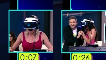 Así han reaccionado Cristina Pedroche y Anna Simon al ataque de un tiburón virtual
