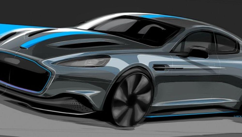 Aston Martin se suma a la ofensiva eléctrica con el RapidE