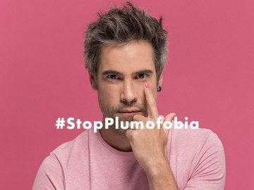 Unax Ugalde en la campaña #StopPlumofobia