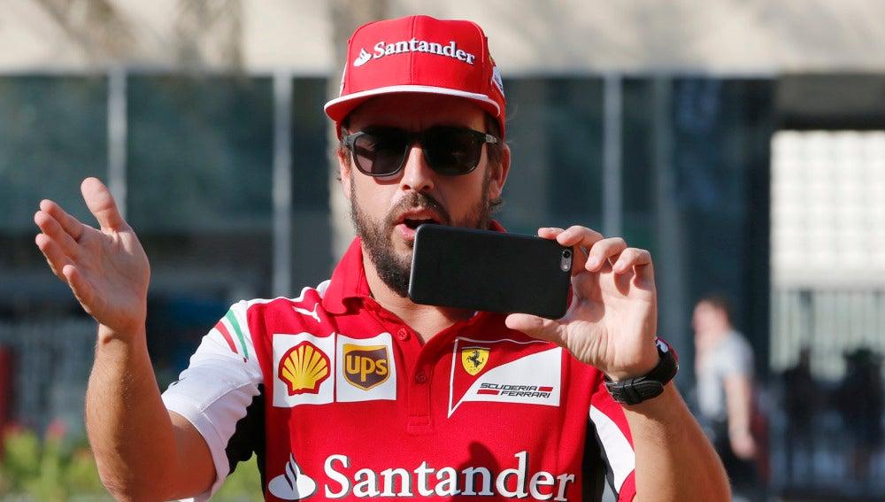 Fernando Alonso, durante su etapa con Ferrari