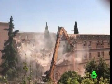 Derrumbe de un convento en Madrid