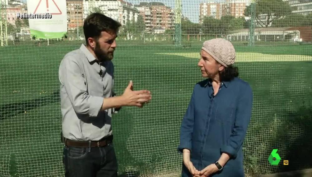 Gonzo con Carmen Ochoa